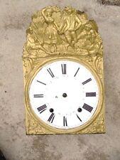 Horloge pendule comtoise mouvement mécanique d'époque 19ème