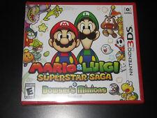 Mario & Luigi: Superstar Saga + Bowser's Minions (Nintendo 3DS, 2017)  NEW