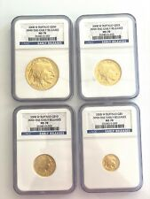 2008 W Buffalo Gold 4 Coin Set Early Releases MS70 NGC ($50,$25,$10,$5)