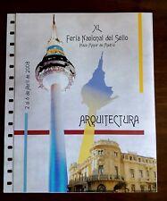 DOCUMENTO ANFIL NUM 38 2008 FN SELLO MADRID ARQUITECTURA. INCLUYE SOBRE.