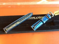 Baume & Mercier Linea Watch Strap Bands & Buckle ( different colors available )