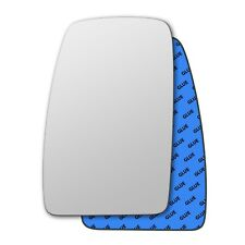 Left wing self adhesive mirror glass for Renault Master 2004-2019 105LS