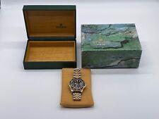 Rolex GMT Master II Yellow Gold Steel Jubilee Bracelet Watch 16713 - 40mm - MINT