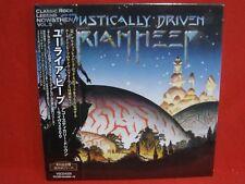 URIAH HEEP Acoustically Driven Live 2000 JAPAN Mini LP CD Un-Plugged Jethro Tull
