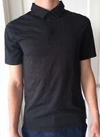 Lululemon Mens Size S Evolution Polo Shirt SS Black BLK NWT Short Sleeve Collar