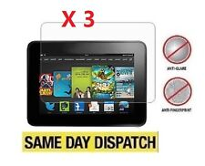3 x Nuevo Amazon Kindle Fire HD 7 2013 2nd protectores de pantalla mate antideslumbrante
