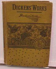 Circa 1880 CHRISTMAS BOOKS Charles Dickens BOZ ART