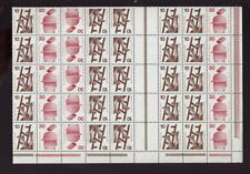 GERMANY 1972-4 ACCIDENT PREVENTION 10+30 BLOCK of 40