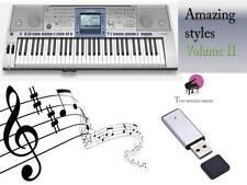 PSR 1500 USB-Stick+AMAZING Song Styles VOLUME 2 NEW