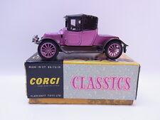 Lot 26368   ORIGINALE CORGI 9031 Classic 1910 Renault in box con foglio rosa top
