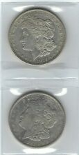 US Two (2) MORGAN SILVER DOLLARS  Dated 1921-D (VF)  and 1921-S (VF)