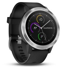 Garmin vívoactive 3 Schwarz/Silber GPS-Fitness-Smartwatch Herzfrequenzmessung