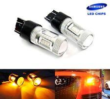 2 Amber 580 W21/5W 582 WY21W Bulb SAMSUNG LED Sidelight Turn Indicator Light DRL
