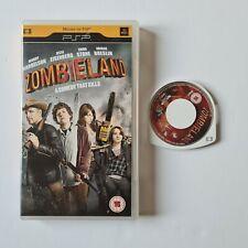 Zombieland UMD Mini for PSP - movie cert 15 Rare
