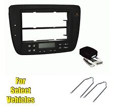 Car Stereo Radio Install Dash Kit Combo for 2004-2007 Taurus/Sable w/Elec AC