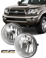 2005-2011 Toyota Tacoma Fog Lights Clear Lens Front Driving Lamps COMPLETE KIT