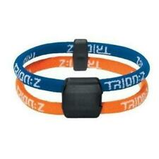 Trion Z TrionZ Dual Loop Ionic Magnetic Sports Golf Bracelet Blue/Orange Small