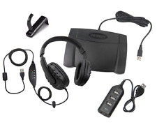 Infinity IN-USB-2 USB Transcription Foot Pedal with WordMaster Headset & Hub