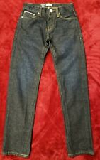 Jack and Jones Jeans Men's size 28 x 32 button fly dark wash straight Ships free