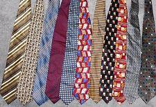 Alexander Julian LOT of 11 Men Neckties NEW (LOT 2359)