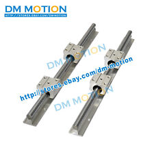 2pcs SBR16- L500mm Linear guide + 4pcs SBR16UU Linear Motion Bearing Blocks