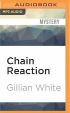 Chain Reaction : A Novel by Gillian White (2016, MP3 CD, Unabridged)