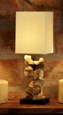 Designlampe Stehlampe HIGHLAND Treibholz Lampe, ca. 45 cm hoch, NEU