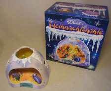 90er Klassiker Diddl Sammelfigur Weihnachtshöhle Teelicht Diorama mit Verpackung