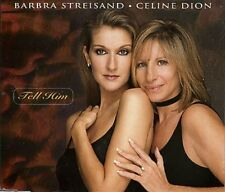 Barbra Streisand Tell him (1997, & Céline Dion) [Maxi-CD]