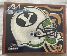"Byu ""Tri-a-puzzle"" 3-in-1 jigsaw puzzle, 350 pieces, New in Box!"