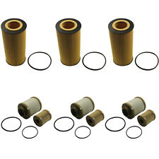 Oil and Fuel Filter 3 sets of FD4616 + FL2016 For Ford 6.0L Turbo Diesel NEW