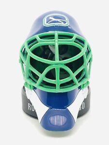 McDonalds 2009 NHL Goalie Mask ROBERTO LUONGO VANCOUVER CANUCKS MINI HELMET, FIG