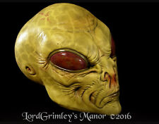 Face Stealer Green Alien Uncut Collector Latex Halloween Mask of Area 51