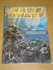WHITE DWARF ROLE PLAYING MONTHLY #58 FN GAMES WORKSHOP MAGAZINE US
