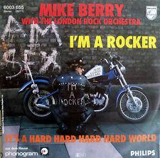 "7"" 1977 GERMAN PRESS RARE MINT- MIKE BERRY I´m A Rocker"