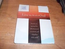 Live The Word Of God By Living Christian (CD-ROM, 2007) Bible Study NEW