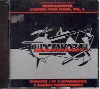 Chostakovitch : Sonatas N.1 & 2, 3 Danses Superbe, 10 Aphorismes/Varvarova - CD