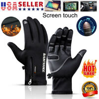 Winter Gloves Touch Screen Water Resistant Glove for Outdoor Phone Texting