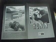 RONIN, orig Austrian Film program [Robert DeNiro, Jean Reno, Natascha McElhone]
