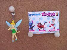 Official Disney * Tinker Bell Clip Mascot Charm * Figure Japan Gashapon Peterpan