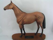 "LARGE BESWICK CONNOISSEUR COLLECTION 12 1/2"" RED RUM RACEHORSE FIGURINE, 2510"