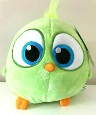 """Large 8"""" Green Angry Birds Hatchling Plush Toy . Licensed. New. Soft"""