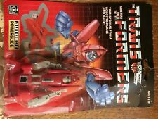Vintage 1985 Transformers G1 Autobot Powerglide Action Figure with Box!