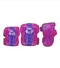 New listing Roller Derby Youth Protective Gear Wrist Elbow Knee Pads Age 5-10 Purple, New