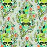 Free Spirit Tula Pink All Stars Agave Raccoon PWTP037 Cotton Fabric BTY
