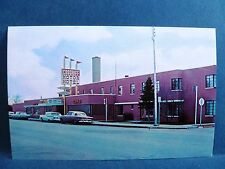 Postcard CO Craig Cosgriff Motor Hotel 1950's Old Cars