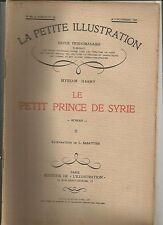 LA PETITE ILLUSTRATION N°182 LE PETIT PRINCE DE SYRIE - ROMAN DE M. HARRY 2
