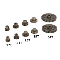 Billet Machined Steel 46T Spur Gear for Redcat TR-MT10E 1//10 Brushless Truck