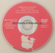 7.10 2015 UPDATE 2006 2007 INFINITI M35 M45 QX56 NAVIGATION MAP CD DVD US CANADA