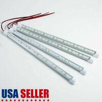 12V/24V 24/48LED Strip Light Tube Bar Hard Rigid Lamp White For Car Caravan Home